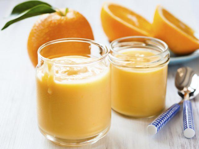 Receta de postre de naranja sin horno